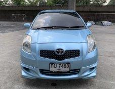 ฟรีดาวน์ toyota yaris 1.5e ปี 2006 สีฟ้าโรงงาน รถสวยไม่เคยชน เล่มพร้อมโอน