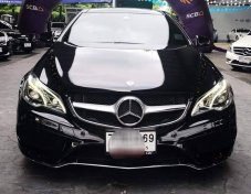 2013 Mercedes-Benz E200 AMG Dynamic coupe  ขายถูก!!