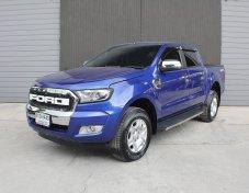 FORD RANGER double cab auto hirider ปี 2017