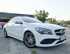 2017 Mercedes-Benz CLA250 AMG Sport sedan