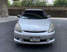 Toyota Wish 2.0Q ปี 2005 สีบรอน ไม่แก๊ส เอกสารพร้อมโอน