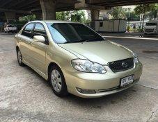 Toyota Altis 1.8G ปี 2002 รุ่นTOP รถมีเล่มพร้อมโอน ภาษีไม่ขาด