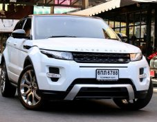 2014  Landrover Evoque 2.2sd4 (ดีเซล) 9Speed top ปี2014