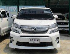 ขายรถ TOYOTA VELLFIRE ที่ เพชรบุรี