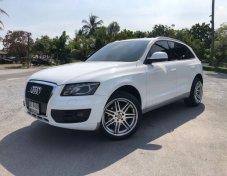 Audi Q5 สีขาว ปี 10