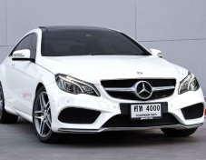 E200 Coupe AMG Dynamic ปี 2014