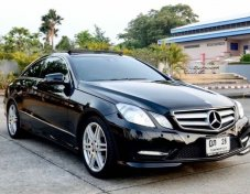 Benz E250 Coupe CGI AMG Sport Package 2013