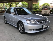 2004 Honda CIVIC 1.7 Vtec Dimension ตาเหยี่ยว รถสวยมือเดียวพร้อมใช้งาน ไม่แก๊ส