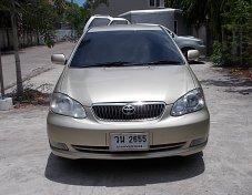 Toyota Corolla Altis  ปี 2002