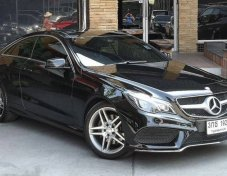 2014 Mercedes-Benz E200 AMG  Dynamic coupe ขายถูก!!