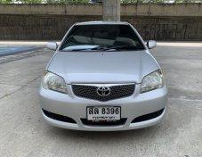 Toyota Vios 1.5E IVORY ปี2006 สีบรอน ไม่แก๊ส รถมีเล่มพร้อมโอน