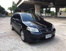 ฟรีดาวน์ Toyota Vios 1.5E MT ปี 2005 สีดำ รถมือเดียว เล่มพร้อมโอน