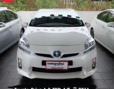 ขายรถ Toyota Prius 1.8 TRD A/T สีขาว ปี 2011