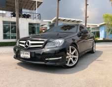 Benz C180 CGI Coupe AMG Package ปี 2012