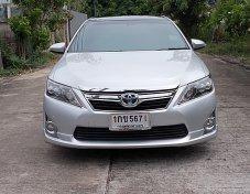 Toyota Camry 2.5 Hybrid DVD ปี12 รถทรงสวยขับดีภายในหรูหรานั่งสบายเครื่องช่วงล่างแน่นออฟชั่นครบพร้อมใช้