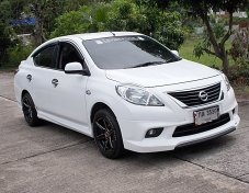 Nissan Almera 1.2 VL ปี14 สีขาว รถสภาพสวยภายในนั่งสบายไม่แก็สเครื่องฟิตช่วงล่างแน่นชุดแต่งรอบคัน