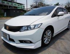 HONDA CIVIC 2012 FB (โฉม12-16) E i-VTEC Sedan 1.8 AT สีขาว