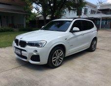 BMW   X3  Xdrive  2.0 d  M Sport  รถสวยม๊าก สภาพดีสุดๆ น้องป้ายแดง มือเดียว ห้ามพลาด