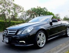 2011 Mercedes-Benz E250 AMG Dynamic convertible