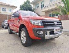 ขาย Ford Ranger Wildtrak 3.2 Auto 4x4 ปี 2014 รุ่นท๊อป รถบ้านสภาพสวยเดิมพร้อมใช้ มือเดียวป้ายแดง ไม่มีชน