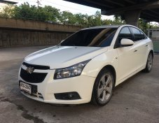 ฟรีดาวน์ Chevrolet Cruze 1.8LTZ รุ่นTOPสุด ปี 2012 สีขาว รถสวยพร้อมใช้งาน