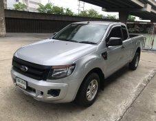 ฟรีดาวน์ Ford Ranger 2.5 CAB เบนซิน ปี 2015 รถมือเดียว เล่มพร้อมโอน