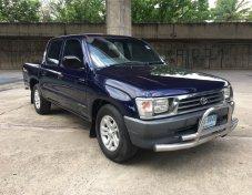 2001 TOYOTA HILUX TIGER 2.5 GL สีน้ำเงิน เกียร์ธรรมดา รถสวยพร้อมใช้งาน