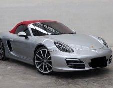 Porsche Boxster GT Silver 2017