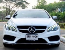 Mercedes Benz W207 E-200 Coupe Facelift AMG Dynamic ปี 2015