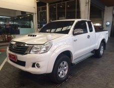 ขายรถ TOYOTA VIGO A CAB Prerunner 2.5E เกียร์ธรรมดา ปี 2015 สีขาว