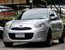ขายรถเล็กประหยัดๆ Nissan MARCH 1.2 E MT 2012