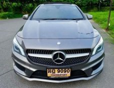 2016 Mercedes-Benz CLA250 AMG Sport sedan