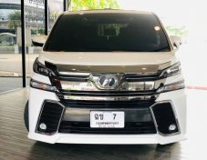 Toyota vellfire 2.5 ZG  ปี 2016