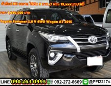 Toyota Fortuner 2.8 V 4WD Wagon AT 2015