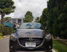 ขายรถบ้าน Mazda2 เครื่องดีเซล1.5 ตัวTop ปี15 แบบ 5 ประตู เกียร์ออโต้ สีน้ำตาล