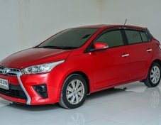 TOYOTA YARIS 2014 (โฉม13-17) G Hatchback 1 .2 A/T สีแดง