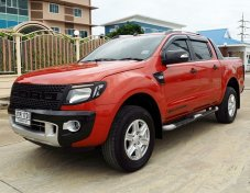 FORD RANGER ALL NEW DOUBBLE CAB 2.2 4WD Wildtrak ปี 2014 เกียร์ AUTO