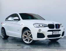 ปี2015 BMW X4 MSPORT 2.0D (F26) สีขาว