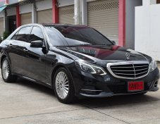 Mercedes-Benz E300 2.1 W212 (ปี 2014) Executive Blue TEC HYBRID Sedan AT