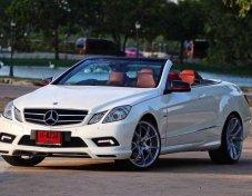 2011 Mercedes-Benz E250 AMG convertible