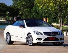 Benz E250 Cabriolet AMG Package + Piecha add on ทั้งคัน ปี2011