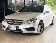 ขาย BENZ E300 Diesel Bluetec Hybrid AMG Package ปี14 FullOption