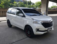 2017 Toyota AVANZA 1.5G รถมือเดียว สภาพดี