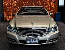 2012 BENZ E200 CGi Elegance รถออกศูนย์ BENZ.