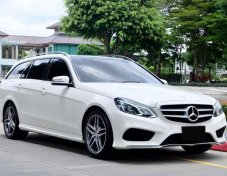 Mercedes Benz W212 Facelift E300 Bluetech Hybrid AMG Sport Dynamic Estate ปี 2015