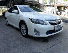 Toyota Camry 2.5 HV Hybrid DVD ปี2012 เกียร์ AT ราคา 629,000-.