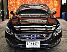 2016 VOLVO S60 T4F (S) 180 แรงม้า รถมือเดียวออกห้าง สีเดิมทุกชิ้น ตัว TOP สุด มีเรด้า รับประกัน เครื่อง เกียร์ 2ปี