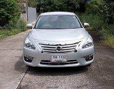 Nissan Teana 2.0 XL Navi ปี13 รถบ้านมือเดียวสภาพสวยดูหรูขับดีไม่แก็สเครื่องช่วงล่างแน่นพร้อมใช้
