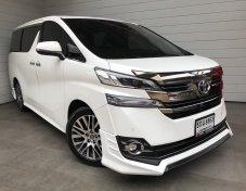 2016 Toyota Vellfire 2.5 (ปี 15-18) Z G EDITION Van AT