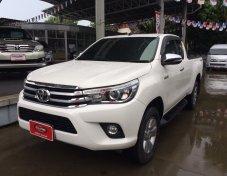 ขายรถ TOYOTA REVO C CAB Prerunner 2.4E PLUS เกียร์ธรรมดา ปี 2016 สีขาว